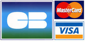 nous acceptons visa cb mastercard logo