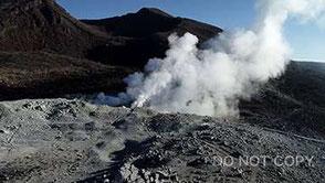 霧島硫黄山を無人航空機で望む 大浦タケシ