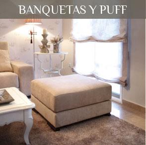 Tienda de Muebles en Valencia, Banquetas, puff