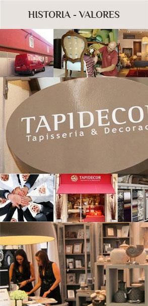 Historia Tapidecor