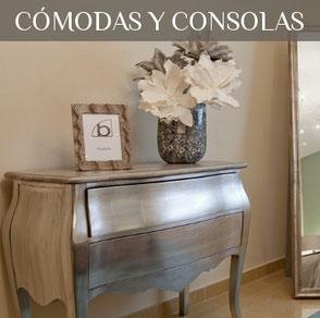 Tienda de muebles en Valencia, cómodas, consolas, sinfonier