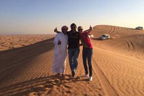 Spaß in der Wüste
