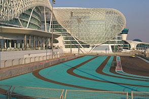 Abu Dhabi Formel 1 Strecke