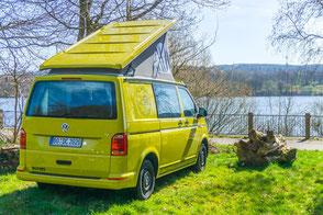 Gebrauchter VW T6 Camper aus der Vermietung