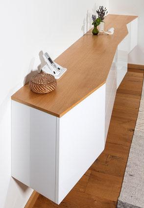 Sideboard leicht und beschwingt