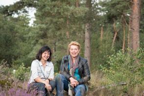 Support hondenschool De Lijn Suzanne Heukels en Jany Geldof