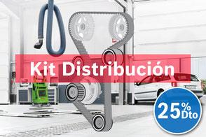 Sustitución de los kit de correa de distribución y cadena de distribución.
