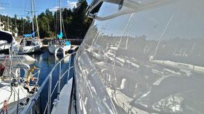 Båtpolering, polering av båt, Oslo, Son, Oppegård
