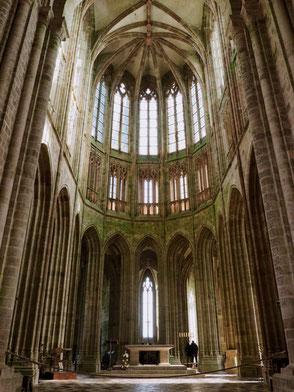 Abbey, Abbaye, Mont-Saint-Michel, Baie du Mont-Saint-Michel