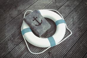 Rettungsring, Anker, Portfolio, Mein Angebot