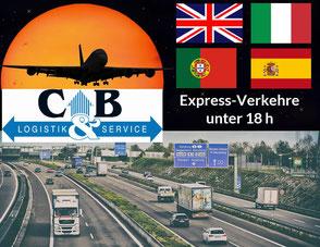 Bild: Express Logistik Europa unter 18 h