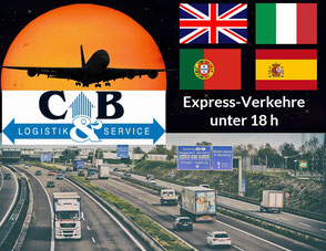 Bild zu Expressverkehre innerhalb Europa unter 18 Stunden auf der Homepage der Bouché & Partner GmbH