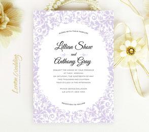 Elegant invitation