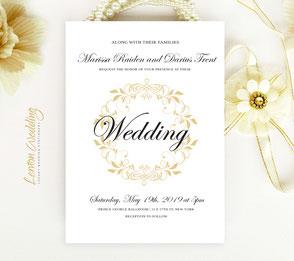 Beautiful wedding cards