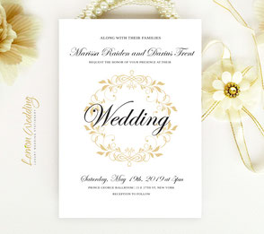 Beautiful wedding cards