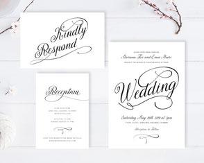 Traditional wedding invitations budget
