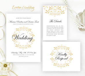 discount wedding invitations packs