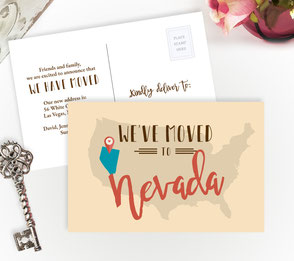 Nevada New Home Cards