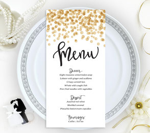 tent place cards