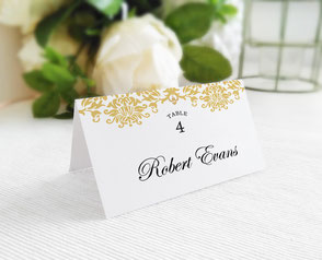 affordable wedding name cards
