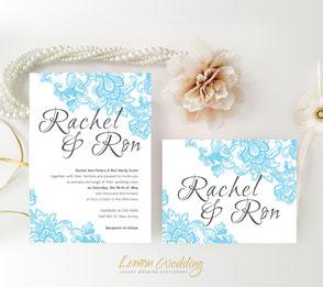 wedding colors | blue wedding  | romantic invites | marriage cards | invitations wedding | invitations cards