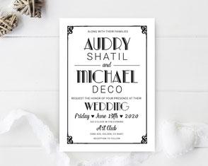 Traditional wedding invitations cheap