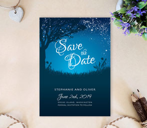 Inexpensive save the date invitations