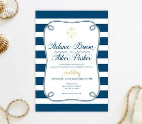nautical invitation