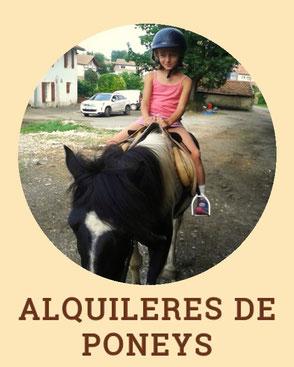 Alquileres de poneys