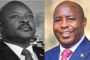 Pierre Nkurunziza † / Evariste Ndayishimiye