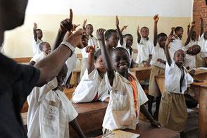 Öffentliche Schule in Bujumbura