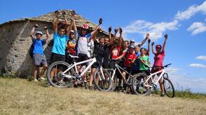 activités VTT vélo groupe Hérault Languedoc Occitanie Salagou