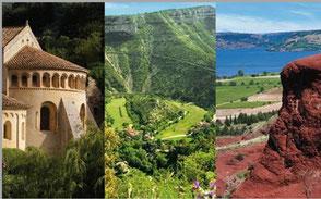 Tourisme Lac du Salagou à voir à faire Vallée de l'Hérault Larzac