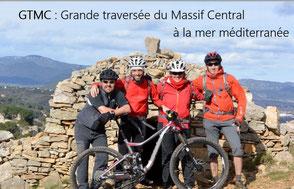 GTMC Grande traversée VTT du Massif central à la Méditerranée
