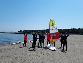 ウインドサーフィン 海の公園 speedwall スピードウォール 初心者 スクール 体験 横浜 神奈川 八景島