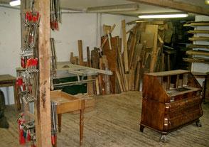 Bild der Werkstatt