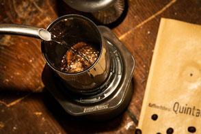 frischer Kaffee Aeropress
