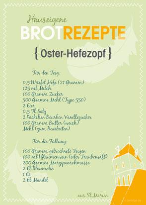 dieartige - Grafik | St. Marien Greifswald, Osterbrotrezepte 2017