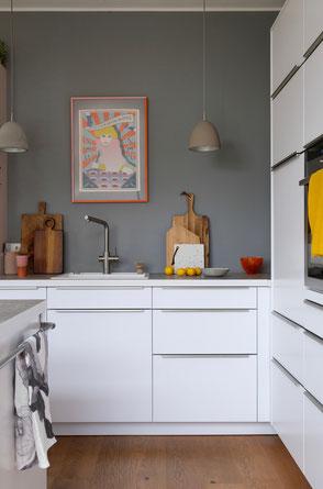 dieartigeBLOG - Küche / white kitchen spring decor