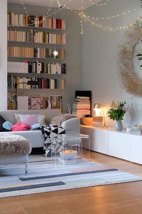 dieartigeBLOG - Wohnzimmer Januar + Livingroom winterdecor