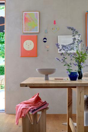 dieartige // Design Studio - Esstisch im Sommer + neues Werk von @duundich