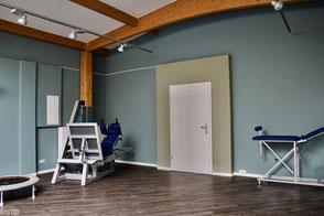 dieartige//Design Studio - Gestaltung Neue Physiopraxis, Sportraum