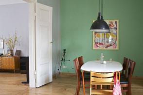 dieartige // Design Studio - Esszimmer / Wohnzimmer im Altbau