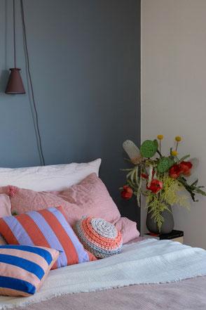 dieartigeBLOG - Bedroom, spring with stripes