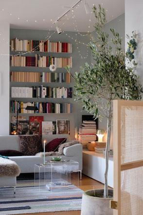 dieartigeBLOG - Wohnzimmer Dezember + Livingroom winterdecor