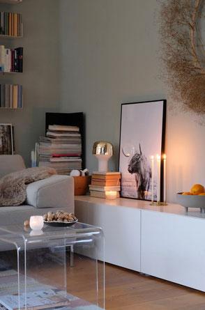 dieartigeBLOG - Wohnzimmer Dezember + Livingroom winter