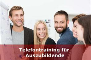 Telefontraining für Auszubildende (Azubis)