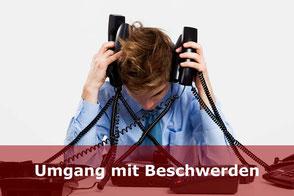 Telefontraining-Umgang mit Beschwerden