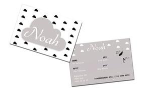 """Geboortekaartje """"Noah"""""""