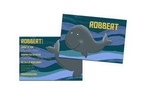"""Geboortekaartje """"Robbert"""""""